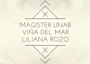 Magister de la UNAB de Liliana Rozo en Viña del Mar